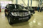 Декоративные элементы решётки радиатора d10 Nissan Pathfinder 2010- (Союз-96, NPTF.91.2073)