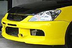 "Передний бампер ""EVO 9 Rallyart"" Mitsubishi Lancer 9 03-06 (AD-Tuning, FBLR9-RA)"
