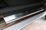 Накладки на внутренние пороги (нерж.) для Renault Duster 2010- (Nata-Niko, P-RE05)