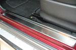 Накладки на внутренние пороги (нерж.) для Suzuki Jimny 1998- (Nata-Niko, P-SZ05)