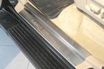 Накладки на внутренние пороги (нерж.) для Toyota LC 100 1998-2007 (Nata-Niko, P-TO15)