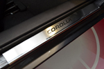 Накладки на внутренние пороги (нерж.) для Toyota Corolla XI 2013- (Nata-Niko, P-TO30)