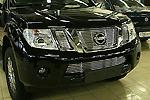 Декоративные элементы решётки радиатора d10 Nissan Navara 2010- (Союз-96, NPTF.91.2073)