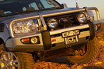 Передний бампер Winch Deluxe Toyota LAND CRUISER 200 07- (ARB, 3415120)