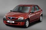 Передний бампер (Оригинал) для Dacia Logan Sedan 04-08 (Tesma, NL2632901)