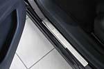 Накладки на внутренние пороги (нерж.) для Peugeot 508 2011- (Nata-Niko, P-PE15)