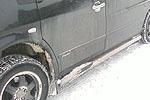 Пороги круглые с приступом Mercedes Vito 96-03 (Can-Otomotiv, MV638-0032)