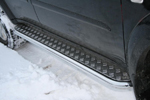 Пороги с листом d60 Mitsubishi Pajero Sport 2008- (Союз-96, MIPS.82.0781)