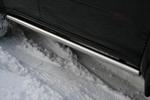 Пороги труба d60 Mitsubishi Pajero Sport 2008- (Союз-96, MIPS.80.0778)