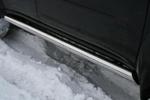 Пороги труба d76 Mitsubishi Pajero Sport 2008- (Союз-96, MIPS.80.0779)