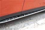 Боковые пороги  для Toyota RAV4 2013+ (Kindle, RV-S35)