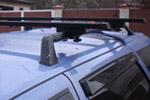 Автомобильный багажник «Аврора» на рейлинги Hyundai Tucson 2004- (Аврора, R-120)