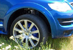 Расширители арок VW Touareg 07- (AD-Tuning, VWT07-FT107)