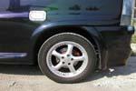 Расширители колёсных арок Mercedes Vito 96-03 (AD-Tuning, MV01FT)