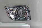 Хром накладки на противотуманные фары для Toyota LC Prado FJ150 2009-2013 (Kindle, TP-L01)