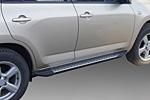 Боковые пороги для Toyota RAV4 LONG 2009-2013 (Kindle, RV-S21)
