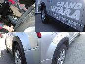 Расширители арок для Suzuki Grand Vitara (5D) 2005-2012 (Rati, SGV08FT)