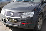 Решетка бампера (гриль) для Suzuki Grand Vitara (до 2010) (BGT-PRO, BGT-PRO-RBG-SUZGVIT)