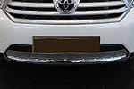 Решетка бампера (сетка) для Toyota Highlander (BGT-PRO, BGT-PRO-RBS-TOYHIGH)