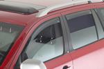 Ветровики (дефлекторы окон) для Renault Koleos 2008- (Climair, CLI0033614/CLI0044234)