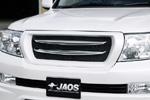 Решетка радиатора с хромированными вставками Toyota LC 200 07- (Jaos, B061048B)
