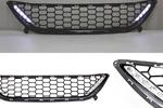 Решетка бампера с DRL Hyundai Elantra MD 2011- (BGT-PRO, RESHBAMDRL-ELRAMD)