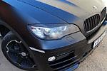 Реснички на фары BMW X6 08- (AD-Tuning, BMW.X6.FLC)