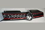 """Решетка радиатора """"GTI Grill"""" Volkswagen Golf VI 5D 2008- (S-Line, VWG0621)"""