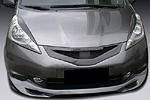 """Решетка радиатора """"JC  style"""" Honda Jazz 07-09 (S-Line, HJ.08.39)"""