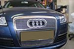 Решетка радиатора и бампера («сетка») для Audi A6 (до 2010)  (BGT-PRO, BGT-PRO-RRB-AU-A6)