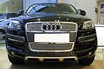 Решетка радиатора и бампера («сетка») для Audi Q7 (от 2010)  (BGT-PRO, BGT-PRO-RRB-AU-Q7)