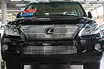 Решетка радиатора и бампера (гриль) для Lexus LX 570 (BGT-PRO, BGT-PRO-RRBG-LEXLX570)