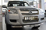 Решетка радиатора и бампера (сетка) для Mazda BT50 (от 2009) (BGT-PRO, BGT-PRO-RRBS-MAZ-BT50)