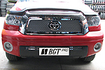 Решетка радиатора и бампера (сетка) для Toyota Tundra (BGT-PRO, BGT-PRO-RRBS-TOY-TUNDR)