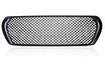 Решетка радиатора матовая «Bentley Style» для Toyota LC200 (заменяемая без логотипа) (BGT-PRO, BGT-PRO-RRBSM-TOYLC200)