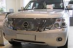 Решетка радиатора (Diamond) для Nissan Patrol (от 2010) (BGT-PRO, BGT-PRO-RRD-NISPATR10)