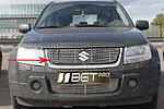 Решетка радиатора (гриль) для Suzuki Grand Vitara (до 2010) (BGT-PRO, BGT-PRO-RRG-SUZGVIT)