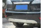 Накладки на задний бампер для Lexus RX 2009-2012 (Kindle, RX-B16)