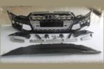 Передний бампер (RS-Style) для Audi A6 2012-2014 (S-line, PBA61)