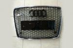Решетка радиатора (RS Style с хром окантовкой) для Audi Q7 2009-2014 (S-Line, RSQ7H)
