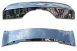 Накладки (хром) на передний и задний бамперы для BMW X5 (F15) 2014+ (Kindle, HM-X5-B43/HM-X5-B44)