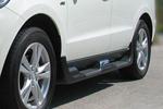 Боковые пороги Hyundai Santa Fe 2010- (HYUSEFS010-004)
