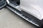 Боковые пороги для Hyundai Santa Fe 2013+ (Kindle, HS-S31)