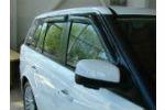Дефлекторы окон для Land Rover Range Rover 2002-2012 (SIM, SLRRR0232)