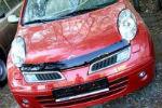 Дефлектор капота для Nissan Micra (March) 2003-2010 (SIM, SNIMIC0212)