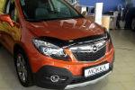 Дефлектор капота для Opel Mokka 2012+ (SIM, SOPMOK1212)