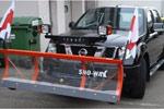 Снегоуборочный ковш с крепежом Mercedes G-class (SNO-WAY)
