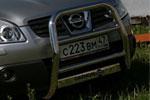Решетка передняя Nissan Qashqai 2007 d 60 мини высокая (Союз-96, NQSH.55.0450)
