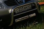 Решетка передняя Nissan Qashqai 2007 d 60 мини низкая (Союз-96, NQSH.56.0451)