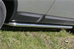 Пороги труба Nissan Qashqai 2007 d 60 (компл 2шт) (Союз-96, NQSH.80.0454)
